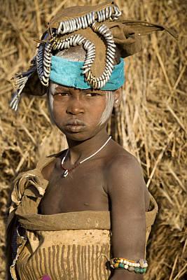 Ethiopia Tribe Poster