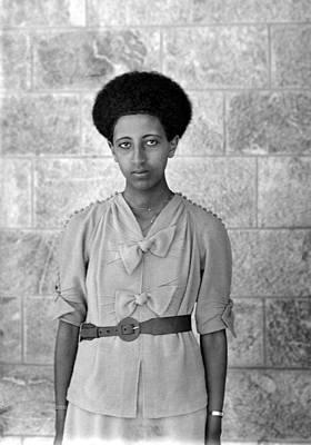 Ethiopian Woman, 1920s Poster