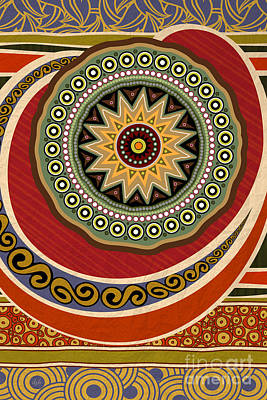 Ethnic Elegance Poster by Bedros Awak