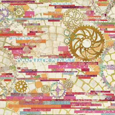 Eu Timetable I On White Poster by Kathy Ferguson