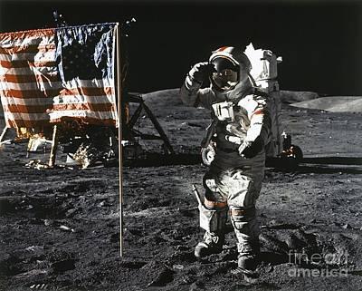 Eugene Cernan, Apollo 17, 1972 Poster