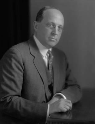 Eugene Isaac Meyer, American Financier Poster