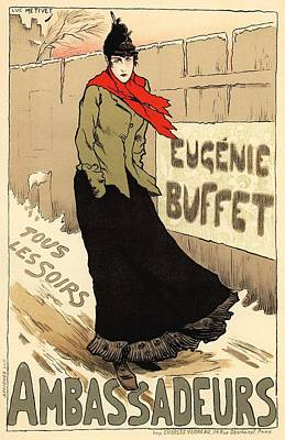 Eugenie Buffet Tous Les Soirs Poster by Gianfranco Weiss