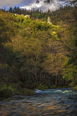 Poster featuring the photograph Eume River Galicia Spain by Pablo Avanzini