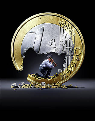 Euro Crisis Poster