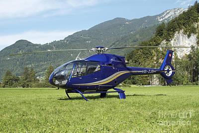 Eurocopter Ec130 Light Utility Poster by Luca Nicolotti