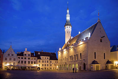 Europe, Estonia, Tallinn Poster