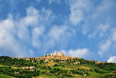 Europe, Italy, Tuscany, San Gimignano Poster