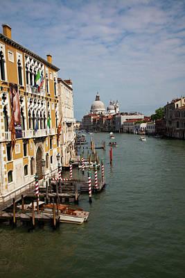 Europe Italy Venice Santa Maria Della Poster by Terry Eggers