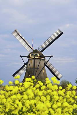 Europe, Netherlands, Kinderdijk Poster by Jaynes Gallery