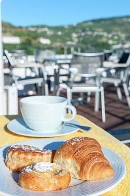 Europe, Portugal, Regua, Breakfast Poster by Lisa S. Engelbrecht