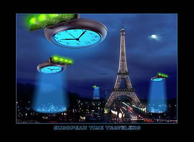 European Time Traveler Poster