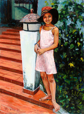 Eva, 2006 Oil On Canvas Poster by Tilly Willis