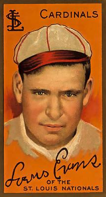 Evans Vintage Cardinals Poster