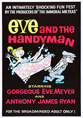 Eve And The Handyman, Us Poster Art Poster by Everett