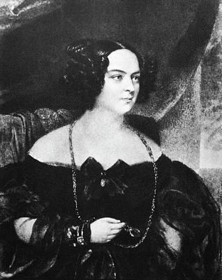 Eveline Rzewuska Hanska (1800-1882) Poster by Granger