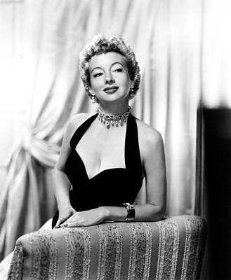 Evelyn Keyes, Ca. Mid-1950s Poster