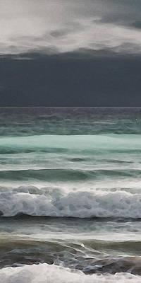 Even Tides Poster by David Hansen