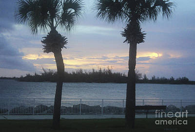 Evening At Fort Pierce Inlet Poster