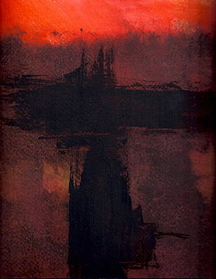Evening Bridge Poster