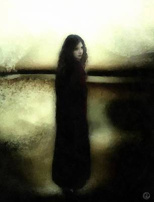 Evening Melancholia Poster by Gun Legler