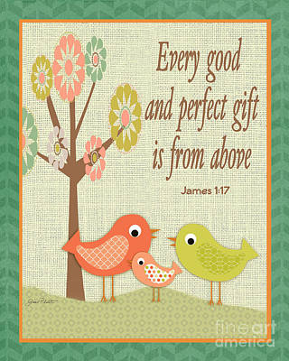 Every Good Gift Poster by Jean Plout