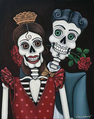 Every Juan Loves Carmen Poster by Victoria De Almeida