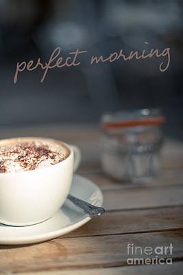 Everybodys Perfect Morning Poster by Wolf Kettler