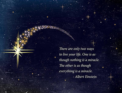 Everything Is A Miracle Poster by Stella Levi