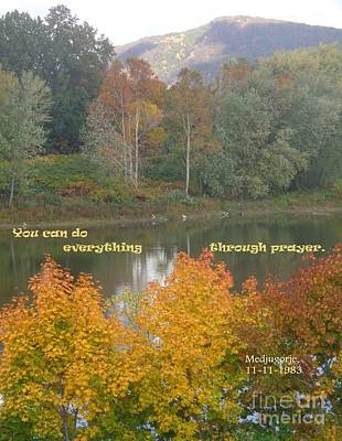 Everything With Prayer Poster