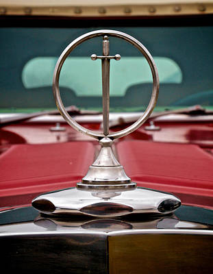 Excalibur Hood Ornament Poster by Odd Jeppesen