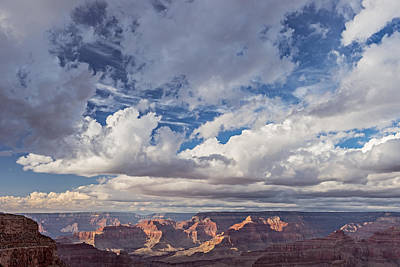 Exceptional Afternoon - Grand Canyon National Park Photograph Poster