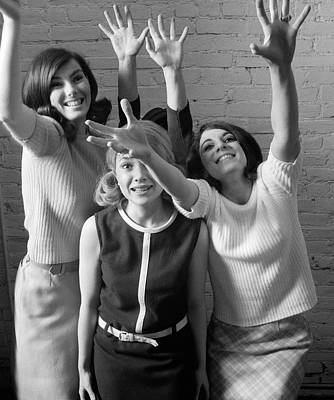 Excited Teenage Girls, C.1960-70s Poster
