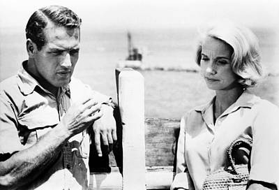 Exodus, From Left, Paul Newman, Eva Poster by Everett