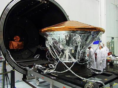 Exomars Schiaparelli Thermal Testing Poster by European Space Agency/b. Bethge