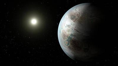 Exoplanet Kepler-452b Poster