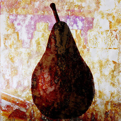 Exotic Pear Poster by Carol Leigh