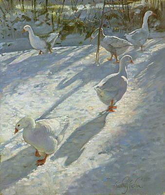 Exploring The Slope Poster by Timothy Easton