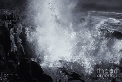 Explosive Sea Poster by Mike  Dawson