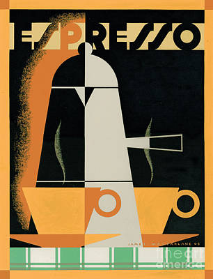 Expresso Poster by Brian James