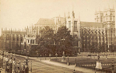 Exterior Of Westminster Abbey And St. Margarets Church Poster by Artokoloro