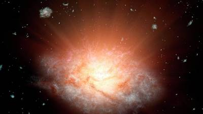 Extremely Luminous Infrared Galaxy Poster by Nasa