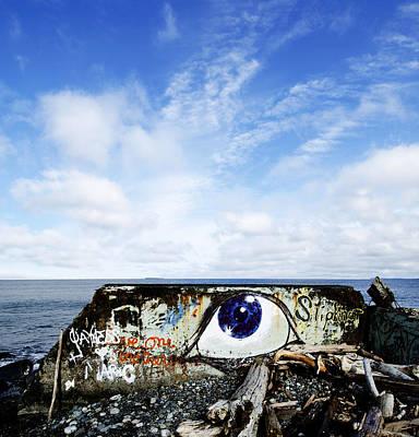 Eye On The Strait Poster