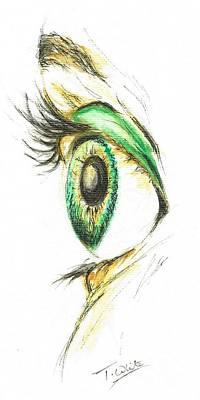 Eye Opener Poster by Teresa White