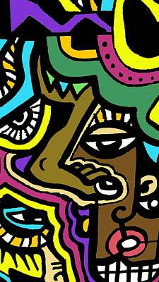 Eye Run This Poster by Kamoni Khem