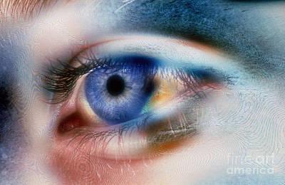 Eye Poster by Scott Camazine