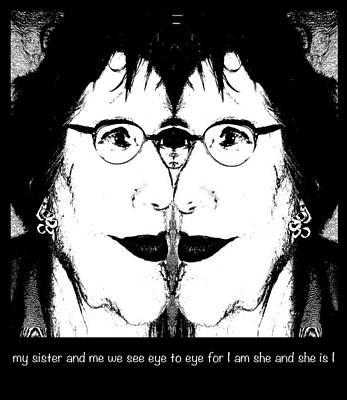 Eye To Eye Poster by Ginny Schmidt