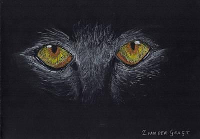 Eyes Poster by Zilpa Van der Gragt