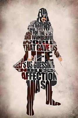 Ezio Auditore Da Firenze Poster by Ayse Deniz