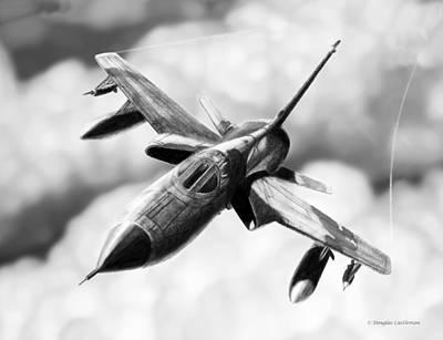 F-105d Thunderchief Poster by Douglas Castleman